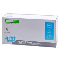 Clean+Safe EN1 перчатки нитриловые повышенной прочности