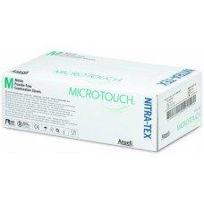 Micro-touch Nitra-tex нитриловые нестерильные перчатки