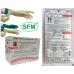 SFM двойные латексные перчатки с индикацией прокола