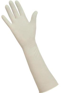 Фото Акушерская удлиненная хирургическая перчатка