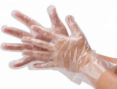 Фото полиэтиленовые перчатки