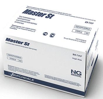 Фото Ортопедические перчатки NG Master St high-risk