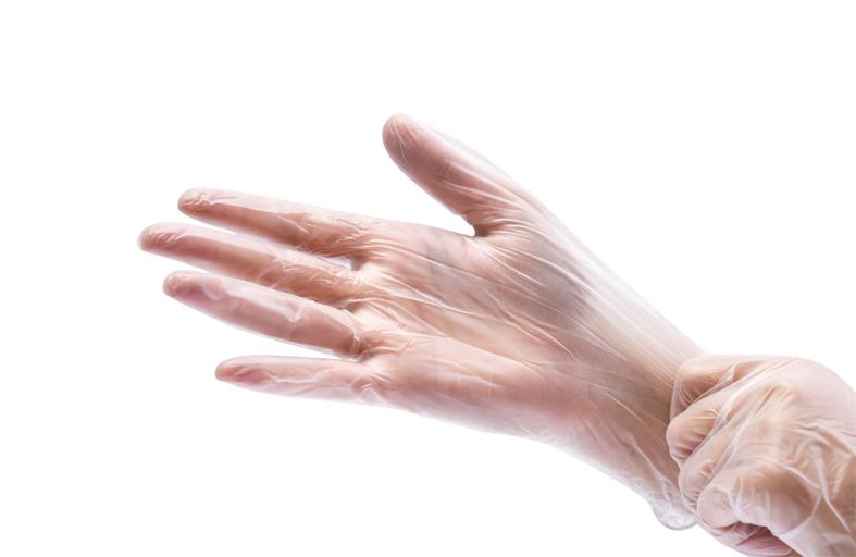 Фото виниловых перчаток