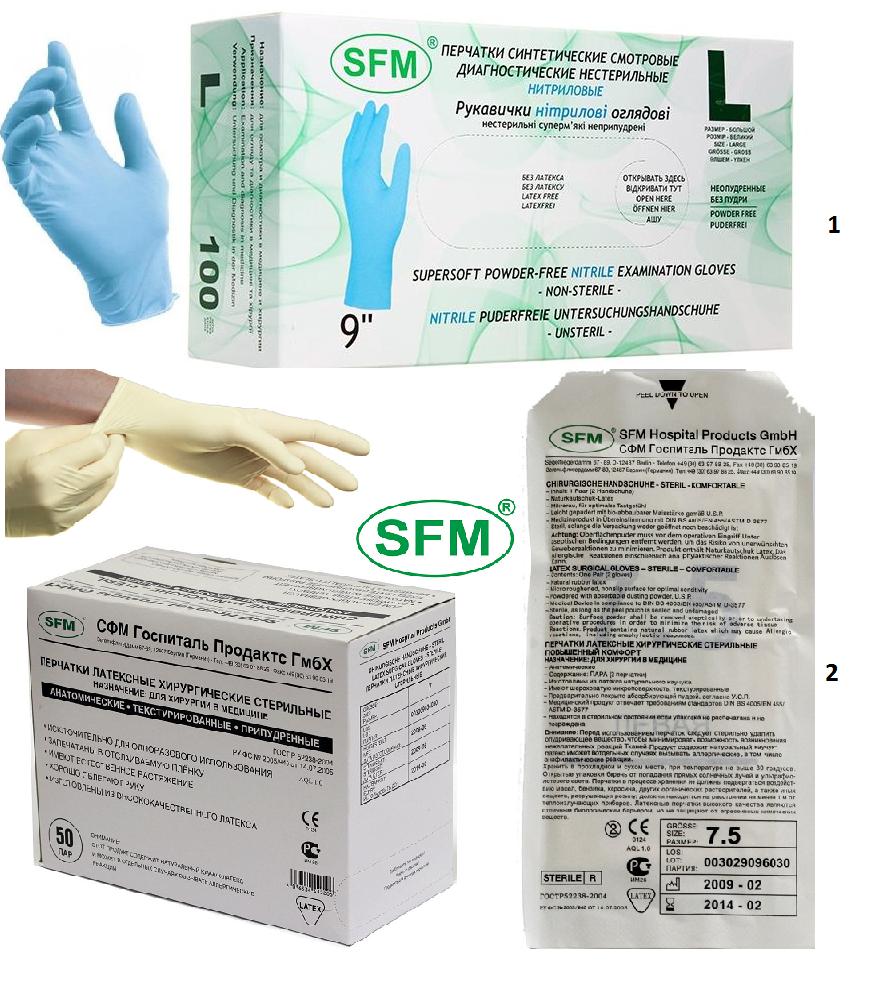 Фото медицинских перчаток