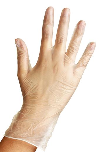 перчатки виниловые basic medical